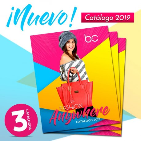 3 Catálogos b&c Collection 2019