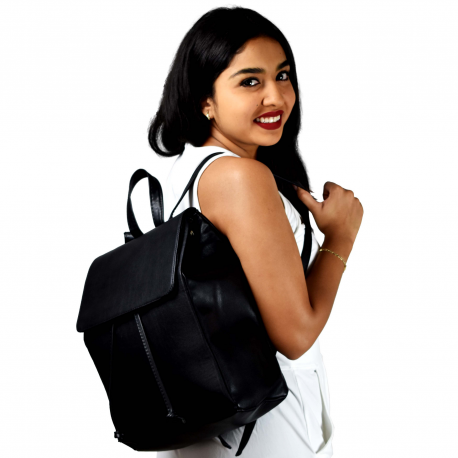 Backpack de Moda Susan Negro